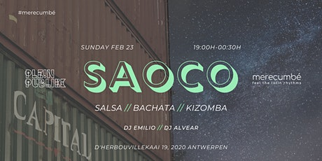 SAOCO ANTWERP 23//02 tickets