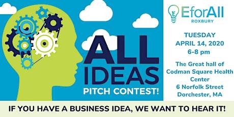 EforAll Roxbury All Ideas Pitch Contest tickets