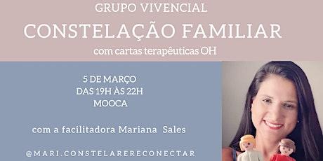 Grupo Vivencial de Constelação Familiar com cartas terapêuticas OH ingressos