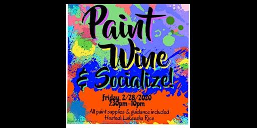 Paint Wine & Socialize