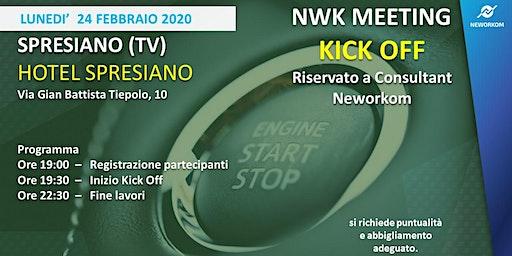 KICK OFF Neworkom Area NordEst- TRAINING per Consultant NWK - SPRESIANO