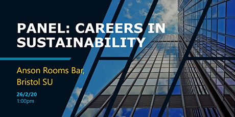 Panel: Careers In Sustainability tickets