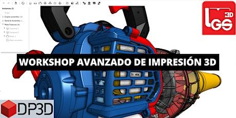 Workshop Avanzado de impresión 3D entradas