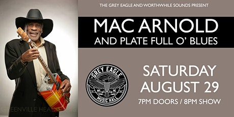 CANCELED:  Mac Arnold & Plate Full O' Blues tickets