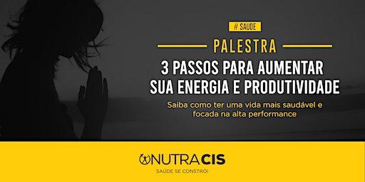 [CURITIBA/PR] 3 passos para aumentar sua energia e produtividade - 16/03