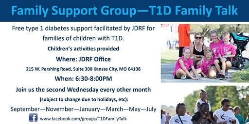 T1D Family Talk - March