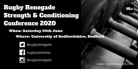 Rugby Renegade Strength & Conditioning Conference tickets