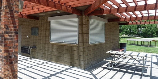 Shelter Overhang at Cody Park - Dates in February and March