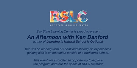 Bay State Learning Center is hosting Education Author Ken Danford tickets