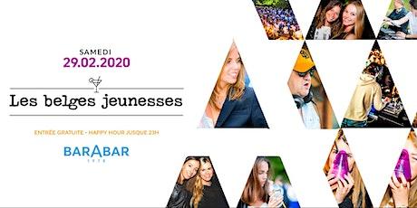 Les belges jeunesses / La sortie du samedi au Bar A Bar / entrée Gratuite billets
