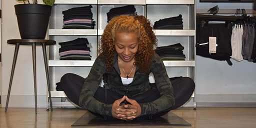 Yoga Flow at The Yards Local lululemon | March Series