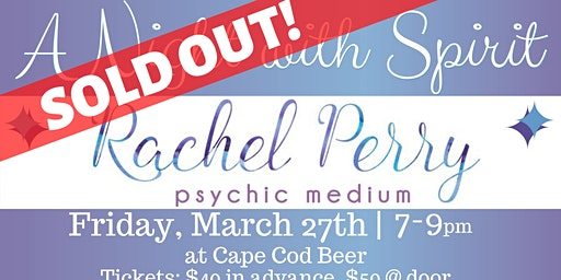 A Night with Spirit: Psychic Medium Rachel Perry