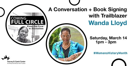 A Conversation + Book Signing with Trailblazer Wanda Lloyd tickets