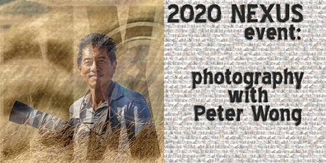 Commercial Photography with Peter Wong tickets