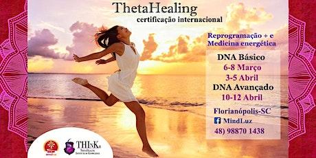 Curso ThetaHealing Florianópolis DNA Avançado ingressos