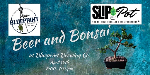 Beer and Bonsai at Blueprint Brewing Co.