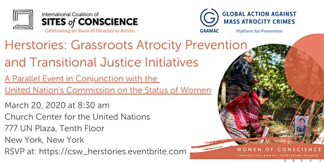 Herstories Grassroots Atrocity Prevention & Transitional Justice Initiative tickets