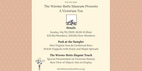 Victorian Tea tickets