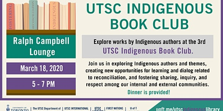 Indigenous Book Cub Dinner tickets