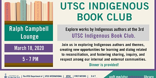 Indigenous Book Cub Dinner