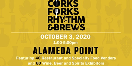 Corks, Forks, Rhythm & Brews tickets