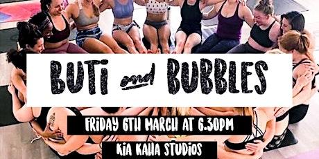 Buti Yoga & Bubbles (& snaaaacks!) tickets