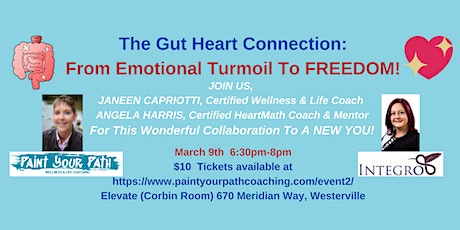 The Gut Heart Connection: From Emotional Turmoil to Freedom tickets