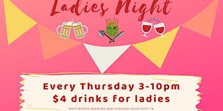 Ladies Night at Battlehops Brewing tickets