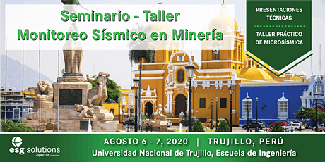 Seminario - Taller de Monitoreo Sísmico en Minería entradas