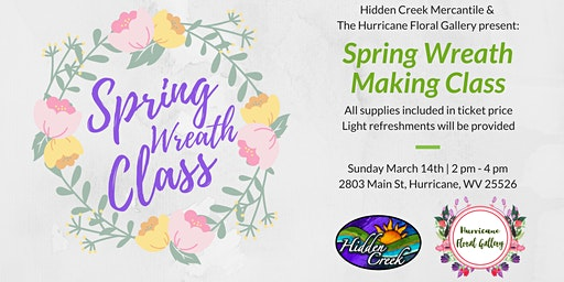 Spring Wreath Making Class