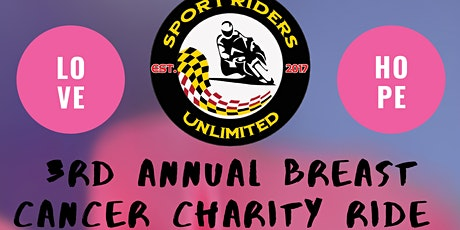 3rd Annual Breast Cancer Charity Ride tickets