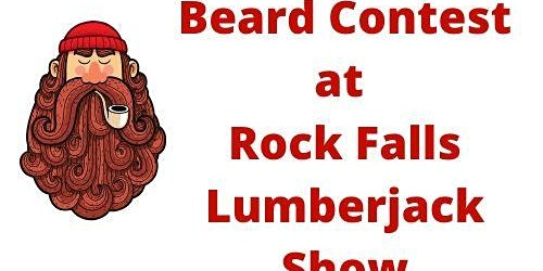 Beard Contest at Rock Falls Lumberjack Show