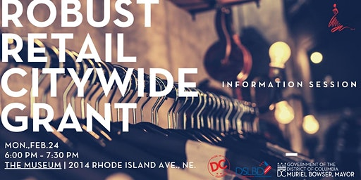 Robust Retail Grant Info Session
