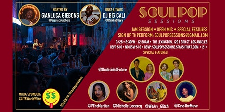 Soul Pop Sessions [Live Music Party] tickets