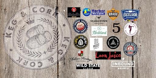 Keg & Cork~beer, wine & cider tasting! Sponsor: Colin Charlson, State Farm