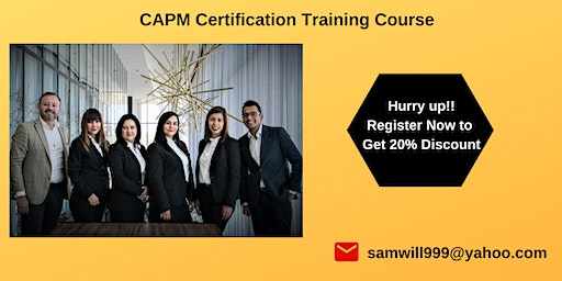 CAPM Certification Training in Cathedral City, CA