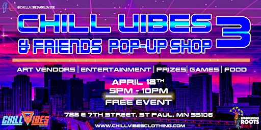 Chill Vibes & Friends Pop-Up Shop 3