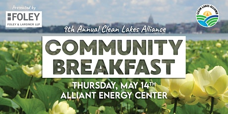 CANCELED: Clean Lakes Alliance Community Breakfast tickets