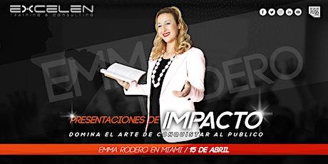 PRESENTACIONES DE IMPACTO boletos