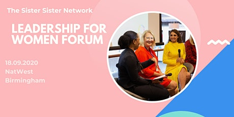 The Birmingham  Leadership for Women Forum tickets