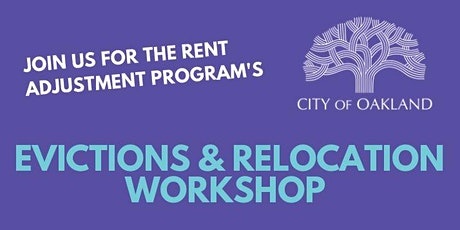 Property Owner Workshop: Evictions and Relocation in Oakland tickets