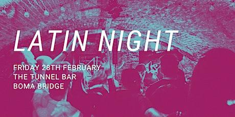 Boma Bridge Latin Night tickets