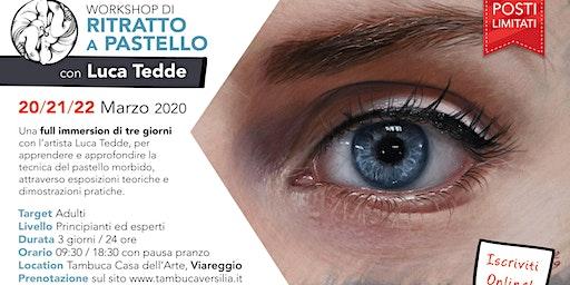 Workshop di RITRATTO A PASTELLO con Luca Tedde