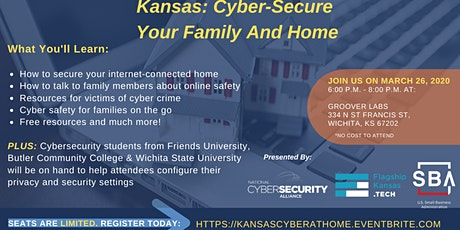 CyberSecure Your Family & Home: Kansas tickets