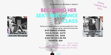 Becoming Her Sexy Heel Dance Class tickets