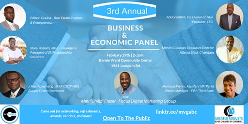 3rd Annual Business & Economic Panel Discussion with GABCC