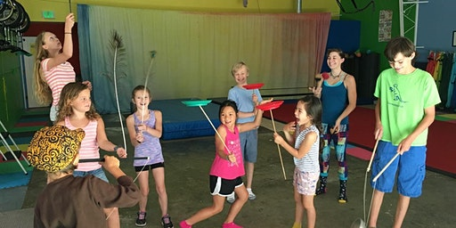 Circus Camp With BerkCirque Session 2