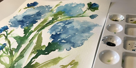 Watercolour Paint Night tickets