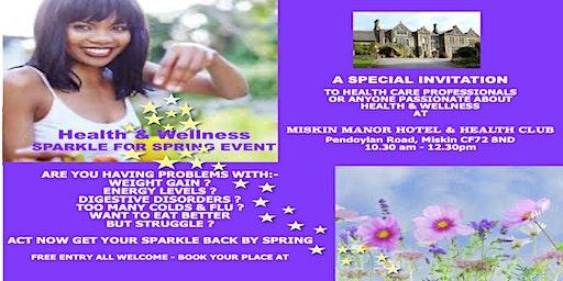 HEALTH & WELLNESS SPARKLE FOR SPRING EVENT
