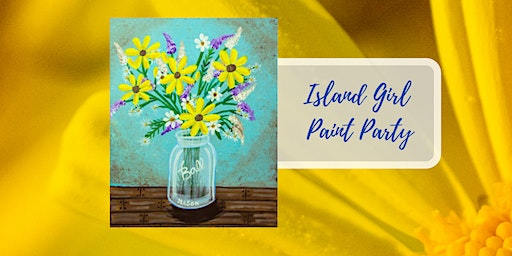 Island Girl Paint Party at Rustic Cork Wine Bar